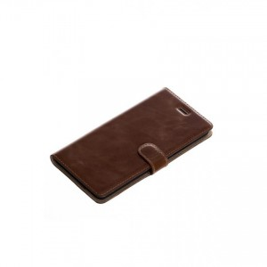 Tellur Book Case Genuine Leather for Huawei P9 Lite, Brown