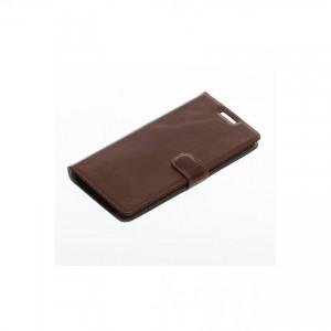 Tellur Book Case Genuine Leather for Samsung S7 Edge, Brown