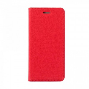 Bookcase Magnetic Tellur Samsung S8 Plus Leather Red
