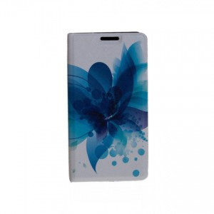 Folio Case Tellur for Samsung S8 Plus Blue Flower