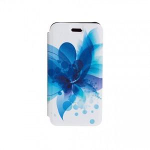 Folio case Tellur for iPhone 7/8 Blue Flower