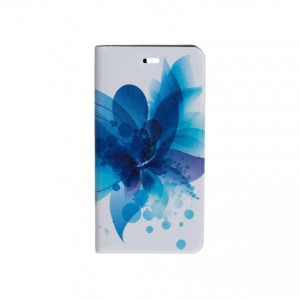 Folio case Tellur for Huawei P9 Blue Flower