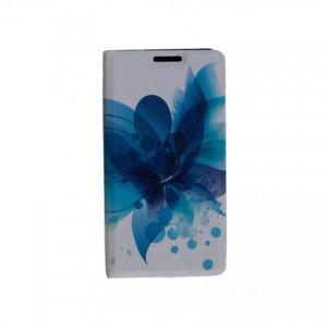 Folio case Tellur for Samsung S7 Blue Flower