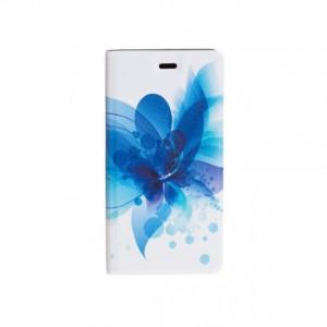 Folio Case Tellur for Huawei P10 Plus Blue Flower