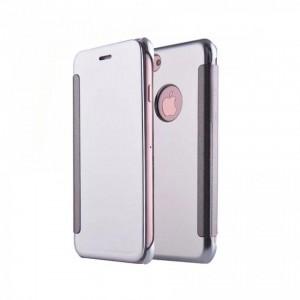 Tellur Mirror PU case for iPhone 8- Grey
