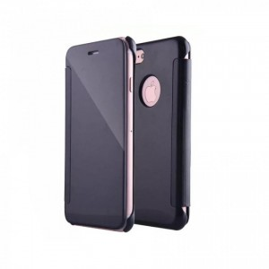 Tellur Mirror PU case for iPhone 8- Black