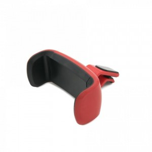 Tellur car phone holder air vent, 360 degree ,clip=5.3-8 cm - red