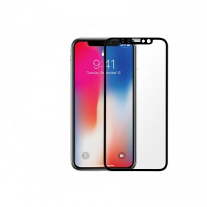 Tellur Tempered Glass 3D for iPhone X- Black