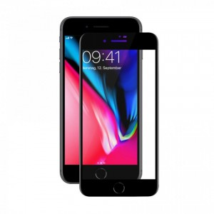 Tellur Tempered Glass 3D for iPhone 8 Plus- Black