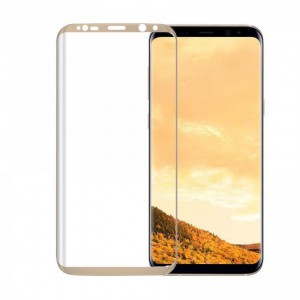 Tellur Tempered Glass 3D for Samsung S8, Gold
