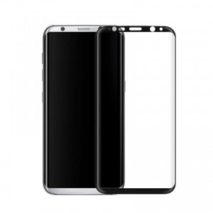 Tellur Tempered Glass 3D for Samsung S8, Black