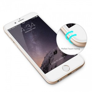 Tellur Tempered Glass 3D for iPhone 7/8, White