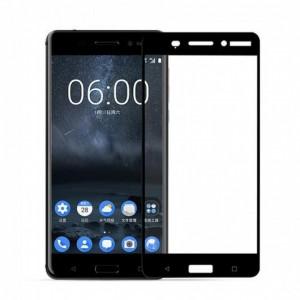 Tellur Tempered Glass for Nokia 6 full cover- black