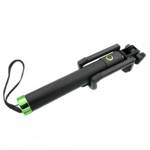 Tellur Premium Bluetooth Selfie Stick M76BF, Lawn Green