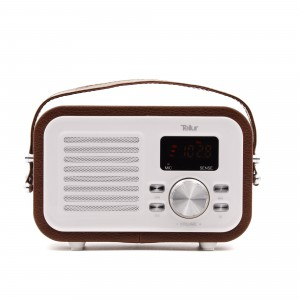 Tellur Bluetooth Speaker Jazz, bluetooth, radio, usb and microSD port, Brown