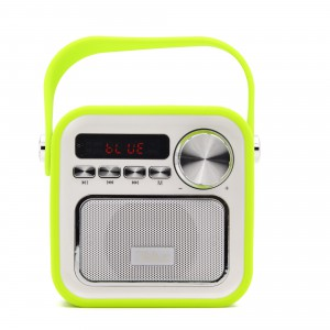 Tellur Bluetooth Speaker Funky, bluetooth, radio, usb and microSD port, Green