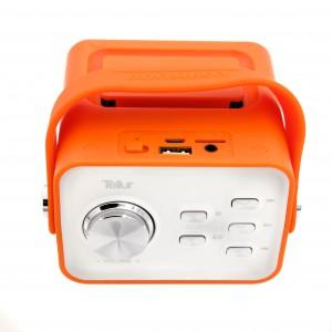 Tellur Bluetooth Speaker Blues, radio, usb and microSD port, Orange