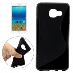 Tuff-Luv  E6_104  Silicone TPU Gel Skin Case Cover for Samsung A3 and A310 - Black (2016)