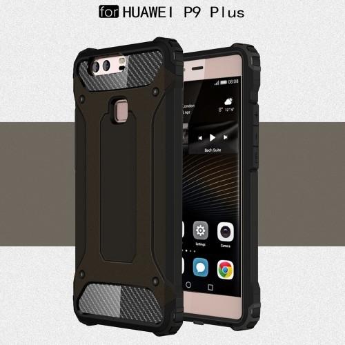 Tuff-Luv A4_60 Armour Tough Case for the Huawei P9 Plus - Black - Tuff-Luv