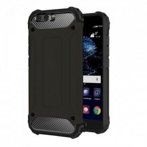 Tuff-Luv  I1_123  Tough Armour Layered Case for Huawei P10 Plus - Black