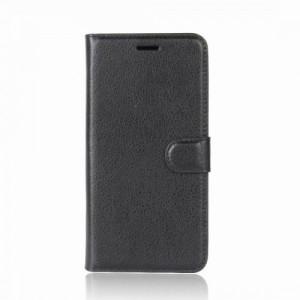 Tuff-Luv  K2_45  Essentials Range Horizontal Flip Leather Case with Wallet & Holder for Huawei P20 Lite - Black