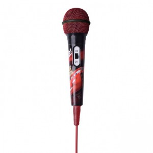 Disney  DY-11201-CR  Aux Microphone Handheld - Cars