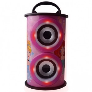 Disney DY-11501-PR Barrel Bluetooth Speaker - Princesses