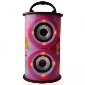 Disney  DY-11501-PR  Barrel Bluetooth Speaker - Princesses