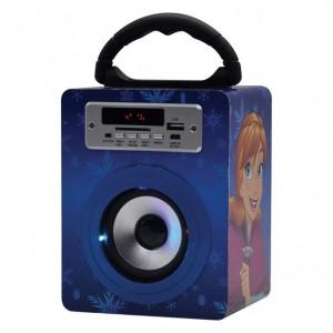 Disney DY-10501-FR Frozen Small Bluetooth Speaker - 2 Sisters