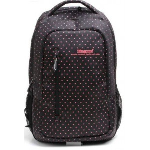 "Kingsons KS3010 14.5"" Black(Red Dots) Laptop Backpack"