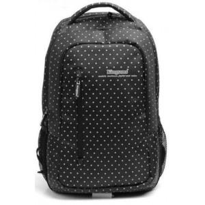 "Kingsons KS3010W 14.5"" Black (White Dots) Laptop Backpack"