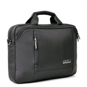 "Kingsons KS3023W Elite 14.1"" Black Laptop Shoulder Bag"