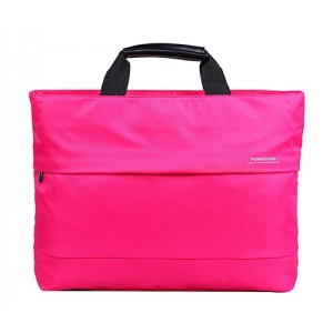 "Kingsons KS3035W-P Charlotte Series 15.4"" Pink Laptop Bag"