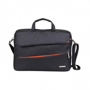Kingsons KS3036W-A-BLK Evolution Series Shoulder Bag - Black