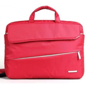 "Kingsons  KS3036W-A-RD  Evolution Series 15.6"" Red Laptop Shoulder Bag"