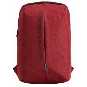 "Kingsons  KS3123W-RD  Pulse Series 15.6"" Laptop Backpack- Red"