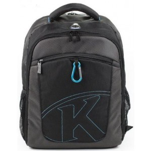 "Kingsons  KS6062W-B  K-Series 15.6"" Black Laptop Backpack"