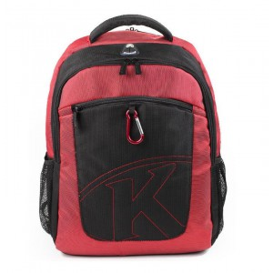 "Kingsons  KS6062W-R  K-Series 15.6"" Laptop Backpack-Red"