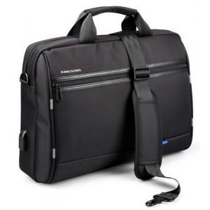 """Kingsons  K9117W  Global Series  15.6"""" Shoulder Bag-Black"""