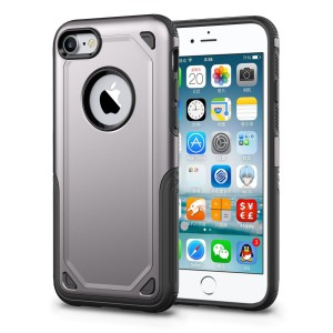 Tuff-Luv  J15_95  Rugged ShockProof Cover for Apple iPhone 7 & 8 - Grey