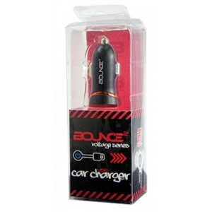 Bounce  BO-8000-BK  Voltage Series USB Car Charger Black