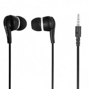 Bounce  BO-1001-BK  Hustle Black Earphones