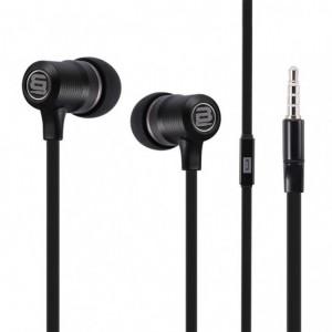 Bounce  BO-1006-BK  Beat Series Black Earphones