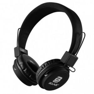 Bounce  BO-2003-BK  Ball Series Black Headphones