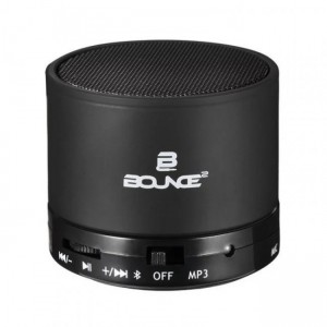 Bounce  BO-1003-BK  Boogie Series Bluetooth Speaker