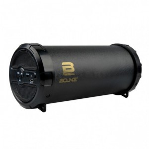 Bounce  BO-3007-BK   Turbo Series Mini Tube Bluetooth Speaker