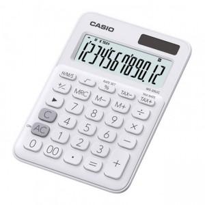 Casio  MS-20UC-WE-S-EC  White 12 Digit Desktop Calculator