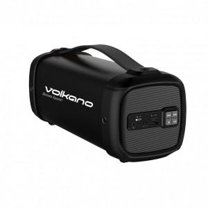 Volkano VK-3302-BK  Mini Bazooka Squared Bluetooth Speaker