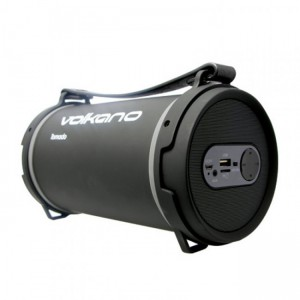 Volkano VK30003BK  Tornado Series Heavy Bass Bluetooth Speaker