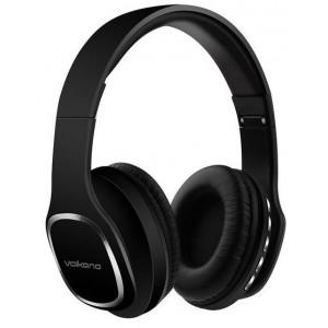 Volkano  VK-2002-BK   Phonic Series Black Bluetooth Full Size Headphones